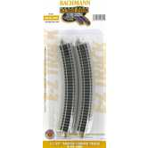 N Scale Radius Curved E-Z Track - 11 1/4""